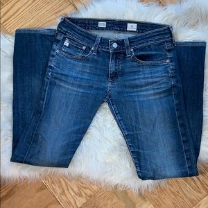 Adriano Goldschmied AG Tomboy Straight Leg Jeans